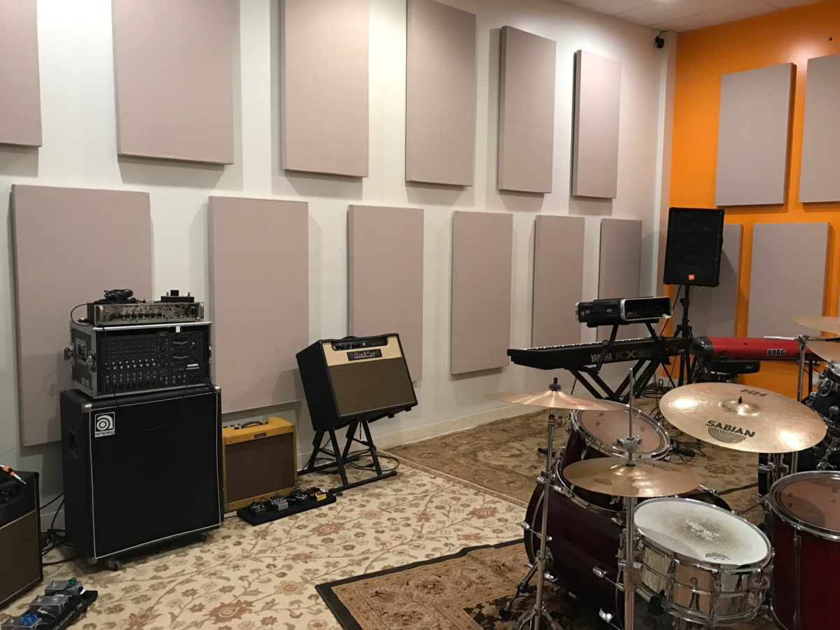 Frame-less Acoustic Panels-Orange County